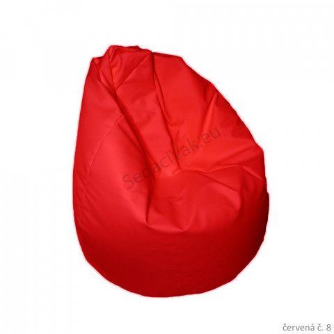 dětský sedací vak - červený
