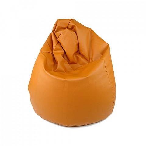Sedací vak - Hruška Komfort - světle hnědá
